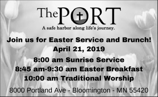 Join Us for Easter Service and Brunch!