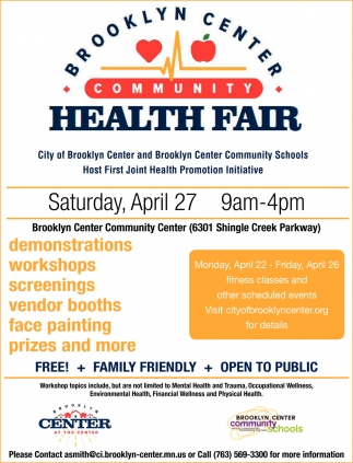 Brooklyn Center Community Health Fair