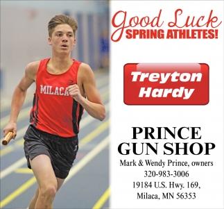 Good Luck Spring Athletes!