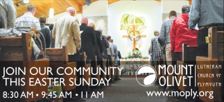 Join Our Community this Easter Sunday