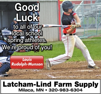 Good Luck to All of Our Local School Spring Athletes