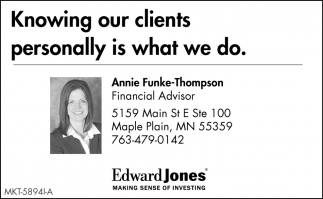 Knowing Our Clients
