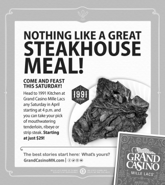 Nothing Like a Great Steakhouse Meal!