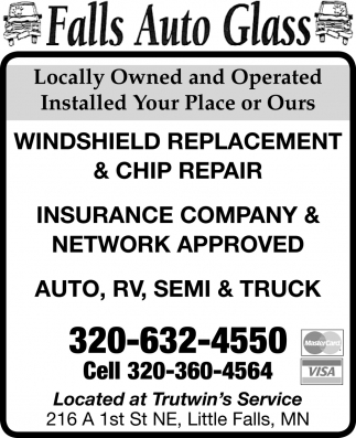 Windshield Replacement & Chip Repair