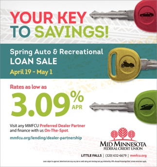 Your Key to Savings!