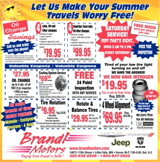 Let Us Make Your Summer Travels Worry Free!