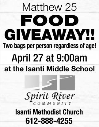 Food Giveaway!