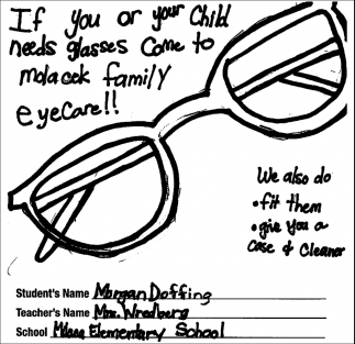 If You or Your Child Needs Glasses Come to Molacek Family Eyecare!