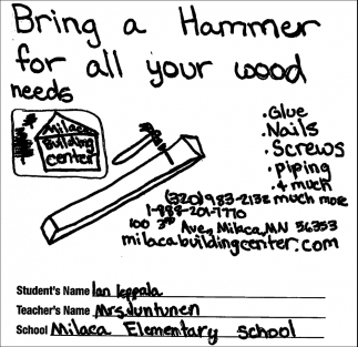 Bring a Hammer for All Your Wood Needs