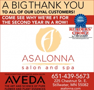 A Big Thank You to All of Our Loyal Customers!