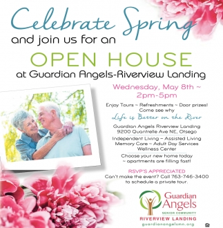 Celebrate Spring and Join Us for an Open House at Guardian Angels-Riverview Landing