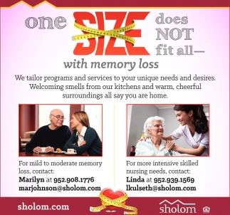 One Size Does Not Fit All with Memory Loss