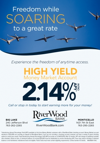 Freedom While Soaring to a Great Rate