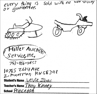 Hiller Auction Service, Inc