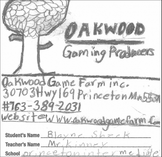 Oakwood Gaming Producers