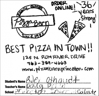 Best Pizza in Town!