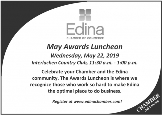 May Awards Luncheon