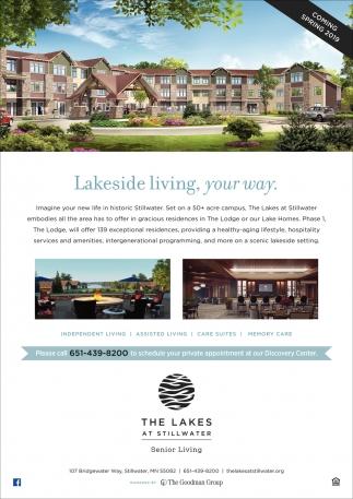 Lakeside Living, Your Way