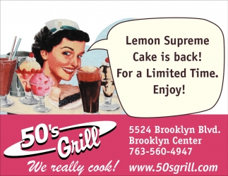 Lemon Supreme Cake is Back!