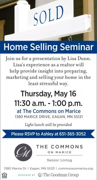 Home Selling Seminar