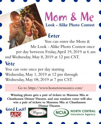 Mom & Me Look - Alike Photo Contest