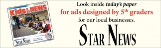 Look Inside Today's Paper for Ads Designed by 5th Graders for Our Local Businesses