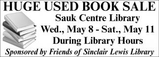 Huge Used Book Sale