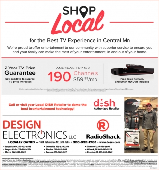 Shop Local for the Best TV Experience in Central MN