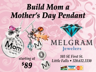 Build Mom a Mother's Day Pendant