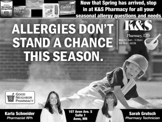 Allergies Don't Stand a Chance this Season