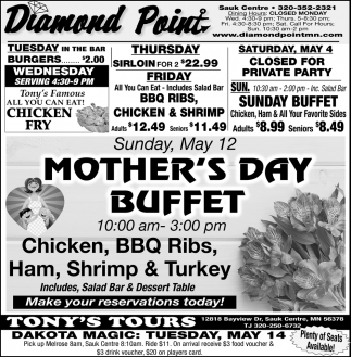 Mother's Day Buffet