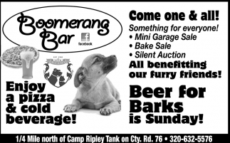 Beer for Barks is Sunday!
