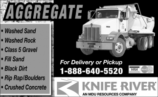 For Delivery or Pickup