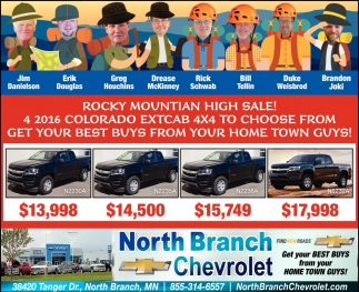 Rocky Mountian High Sale!