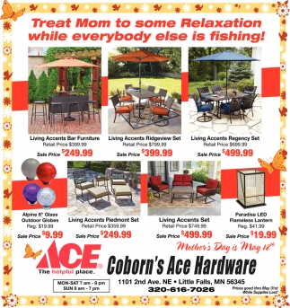 Treat Mom to Some Relaxation while Everybody Else is Fishing!