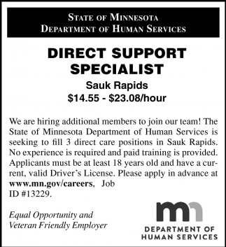 Direct Support Specialist