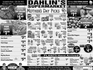 Mother's Day Picks