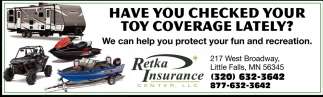 Have You Checked Your Toy Coverage Lately?