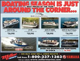 Boating Season is Just Around the Corner...