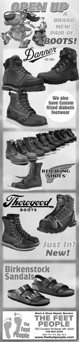 Open Up a Brand New Pair of Boots!