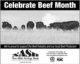 Celebrate Beef Month