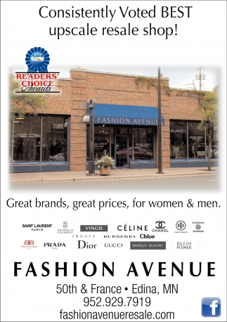 Consistently Voted Best Upscale Resale Shop!