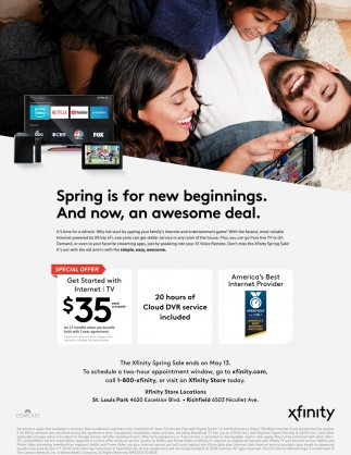 Spring is for New Beginnings. And Now, An Awesome Deal