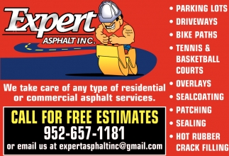 We Take Care of Any Type of Residential or Commercial Asphalt Services