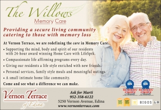 Providing a Secury Living Community Catering to those with Memory Loss