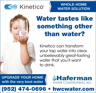 Water Tastes Like Something Other than Water?