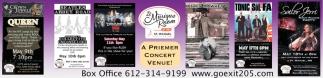 A Premier Concert Venue!