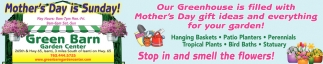 Mother's Day is Sunday!