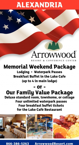 Memorial Weekend Package