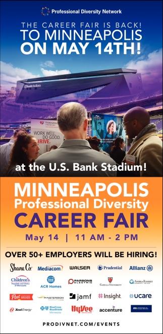 The Career Fair is Back!